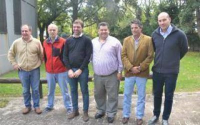 Nedela recibió a intendentes de la Tercera Sección Electoral