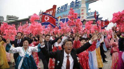 Corea del Norte clausuró el Congreso del Partido con un multitudinario desfile