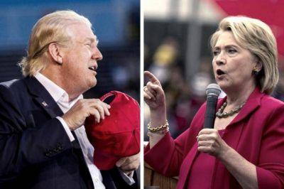 Trump y Clinton buscan sumar más delegados en otra jornada de internas