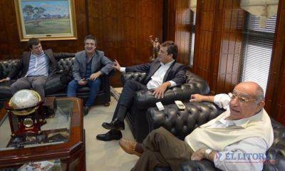 Massa en Corrientes: foto con Camau, gui�o a Macri, mensaje a Colombi y fuerte aval a Nito