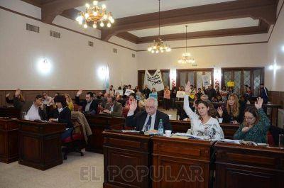 Aprobaron por unanimidad el proyecto del Boleto Estudiantil