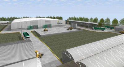 Ceamse arrancó la construcción de una nueva planta de tratamiento de residuos en Ensenada