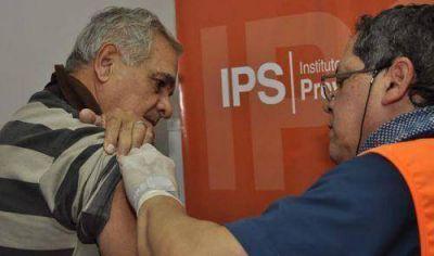 Jornadas de vacunación para beneficiarios del IPS