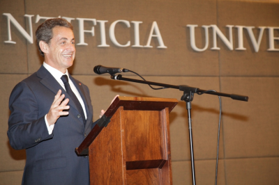 Nicolás Sarkozy:
