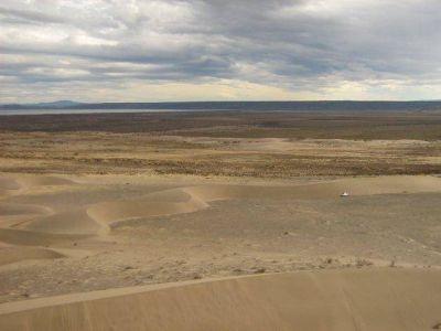 Sarmiento reclama la emergencia hídrica por la crisis del Colhué Huapi