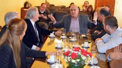 El vicegobernador se reunió con especialistas de seguridad vial