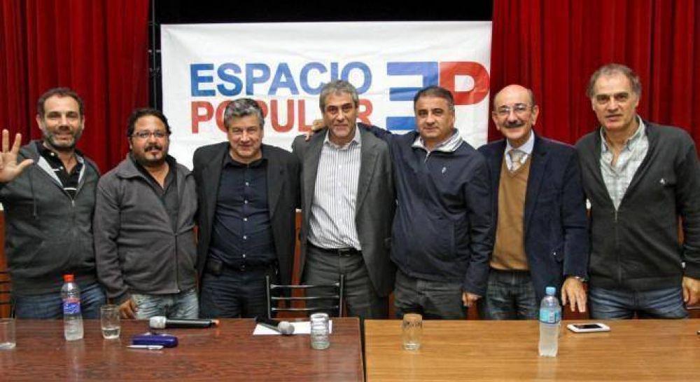 Ferraresi, Ibarra y Depetri, las caras del frente ciudadano que pidió Cristina
