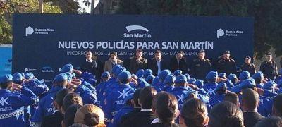 Ritondo junto a Katopodis: �San Mart�n ha sido perjudicado en el env�o de patrulleros�