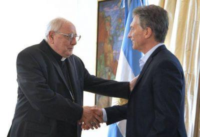 Mauricio Macri se reuni� con la Iglesia por