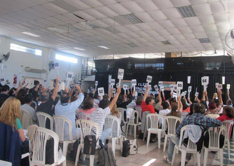 Este jueves el congreso de Agmer define a sus candidatos para la elección de vocales del CGE