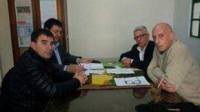 El intendente Bertellys se reunió con profesionales de Epidemiología de la Provincia