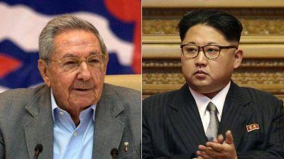 Raúl Castro felicitó a Kim Jong-un tras el congreso del Partido Comunista