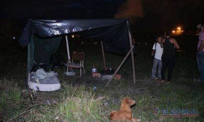 Okupas del San Antonio Este evitaron el ingreso de nuevos usurpadores al predio