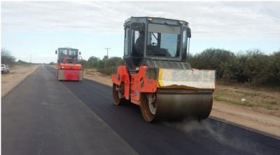 Continúa la construcción la ruta Los Acosta – Chaupi Pozo
