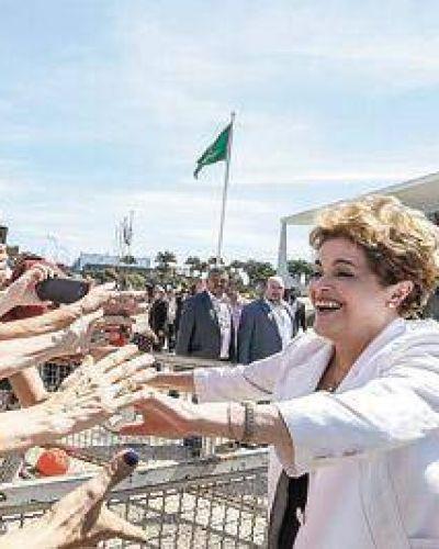 Dilma luchará contra los usurpadores del Planalto