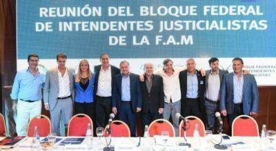 Intendentes del PJ formalizaron candidatura de Bucca para presidir la FAM bonaerense