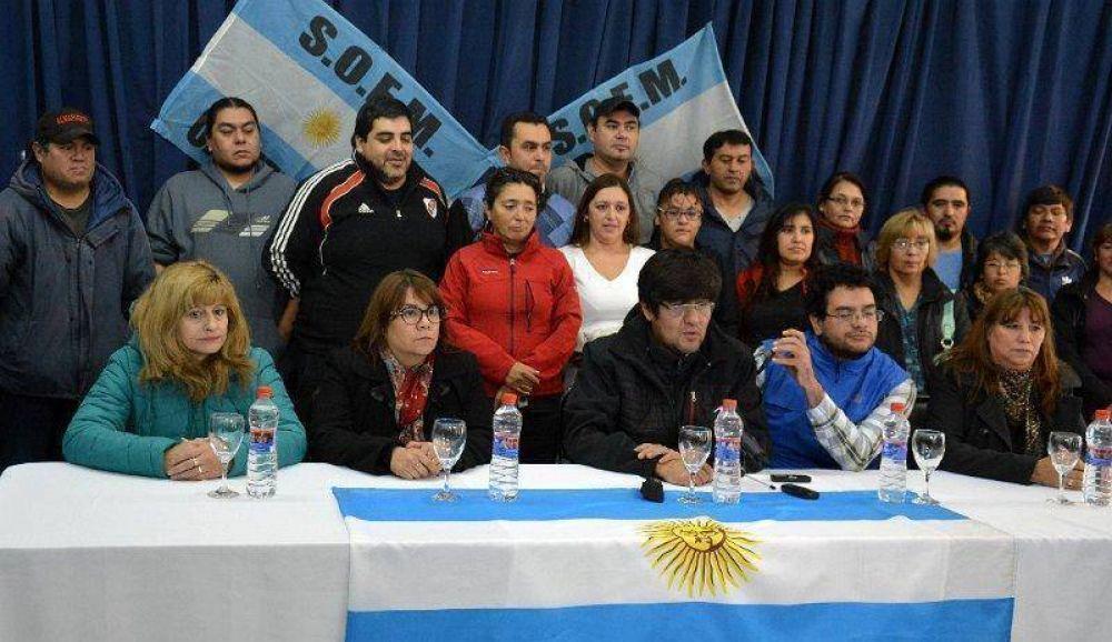 Julián Carrizo también fue a Buenos Aires para ver si Macri puede ayudar a Caleta