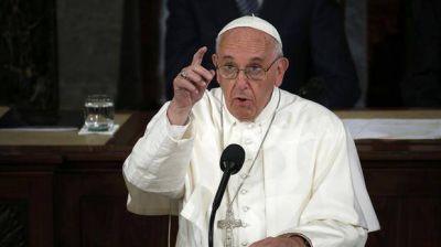 El papa Francisco criticó a quienes