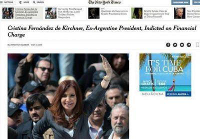 Qué dijeron los medios del mundo sobre el procesamiento de Cristina Kirchner