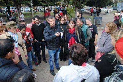 """El concejal Marcos Gutiérrez frenó lo que """"prometía"""" ser la primer represión de la Gestión Arroyo"""