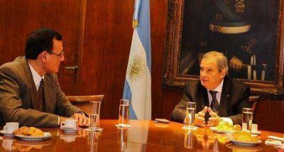 Chagra Dib se reunió con el Ministro de Salud de la Nación, Jorge Lemus