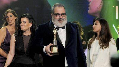 """Martín Fierro de Oro para Jorge Lanata: """"Se lo dedico a Cristina que lo mira por TV"""""""