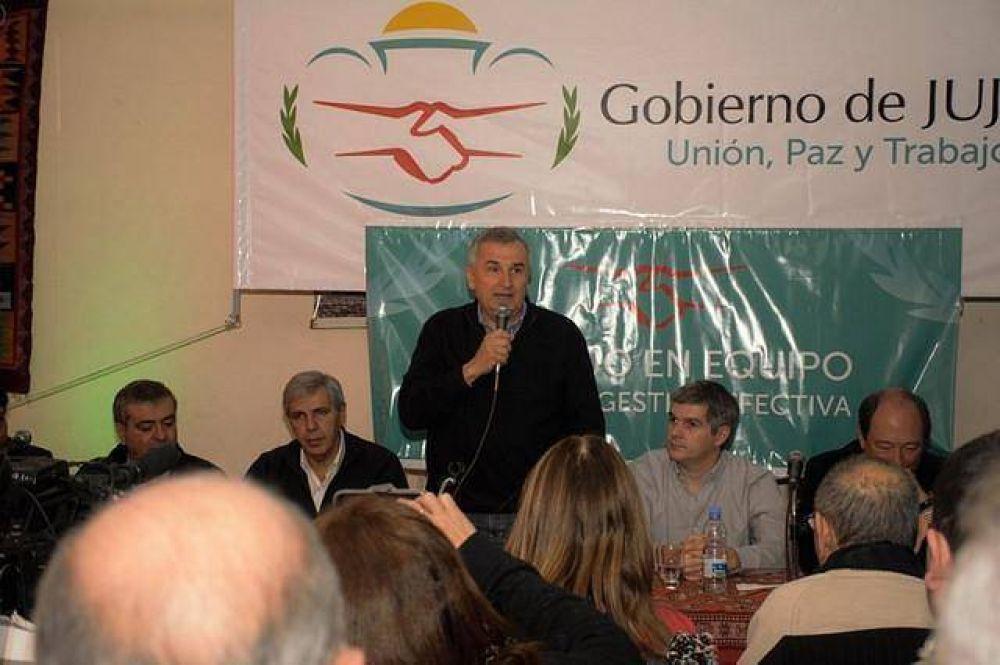 Morales remarcó la ruta del cambio en Jujuy