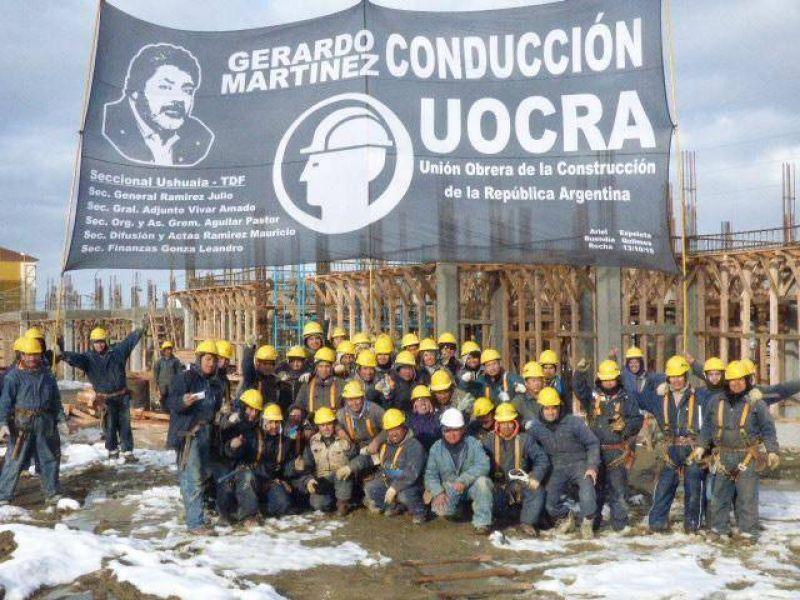 La UOCRA quiere buscar opciones de trabajo