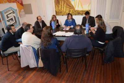 REUNI�N PARA EVALUAR LA ZONIFICACION DE BOLICHES Y LOCALES BAILABLES