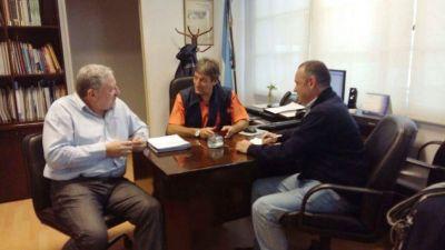 EL INTENDENTE SE REUNIO CON FUNCIONARIOS DEL MINISTERIO DE SALUD DE LA NACION