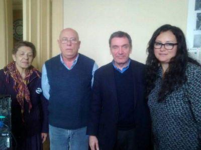 El secretario de Derechos Humanos de la Provincia se reunió con autoridades locales
