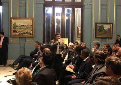 Sáenz participó de un encuentro con Frigerio e intendentes del país