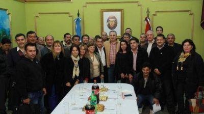 Passalacqua recibió a integrantes de la CGT Regional Misiones