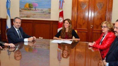 La gobernadora acordó con Nación un trabajo conjunto para prevenir adicciones