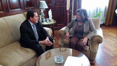Vitale se reunió con la procuradora Falbo por el Informe de Femicidios