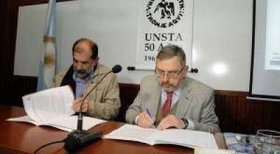 El Gobierno y la UNSTA promueven el estudio en Gestión Ambiental