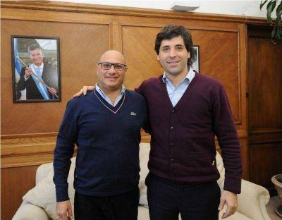 Reino se reunió con el viceministro de Interior