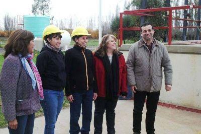 Aguas Rionegrinas incorporó mujeres a sus cuadrillas