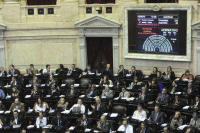 Diputados aprobó la Ley Antidespidos tras una maratónica sesión