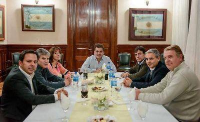 Encuentro entre Ritondo y diputados del Frente Renovador