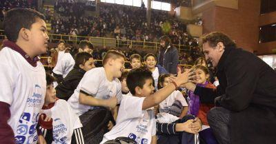 Katopodis present� los Juegos Deportivos San Mart�n 2016