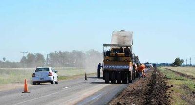 Obras para la Ruta Provincial N° 21