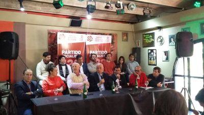 Bonfatti pasó por Paraná, cuestionó al Gobierno nacional y destacó la unidad del Partido Socialista