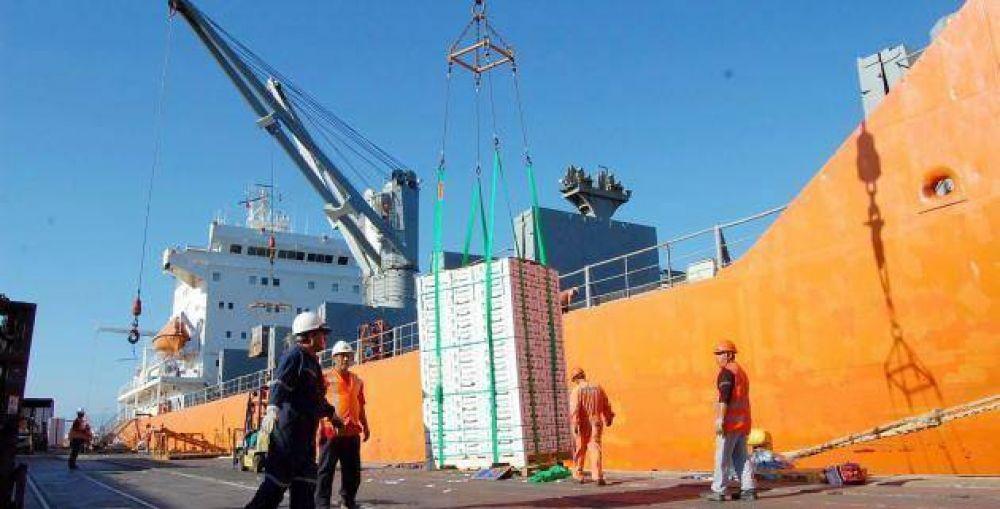 Aumento salarial del 35 por ciento retroactivo a abril para los trabajadores portuarios