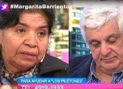 Margarita Barrientos abre un comedor en Cañuelas
