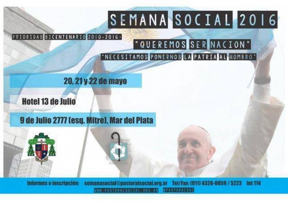 Programa de la Semana Social 2016