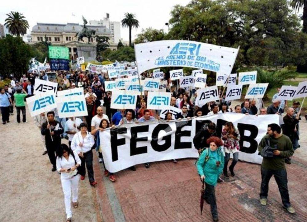 FEGEPPBA reiteró su rechazo a la Ley de Emergencia Administrativa