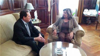 El senador Vitale se reunió con la Procuradora Falbo