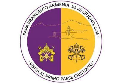 Lema y logo del Viaje del Papa Francisco a Armenia