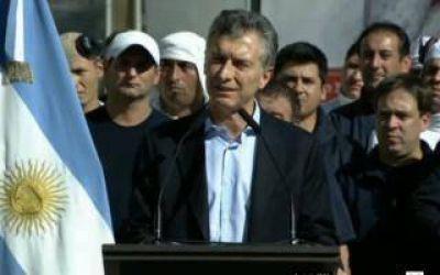 Macri anuncia su veto a la Ley Antidespidos
